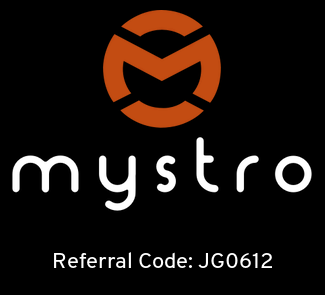 Get Mystro with the Referral Code JG0612